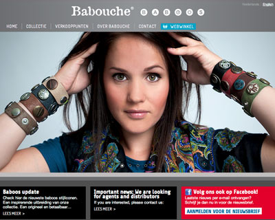 Web development for Babouche baboos
