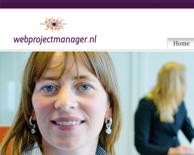 Website design Webprojectmanager.nl