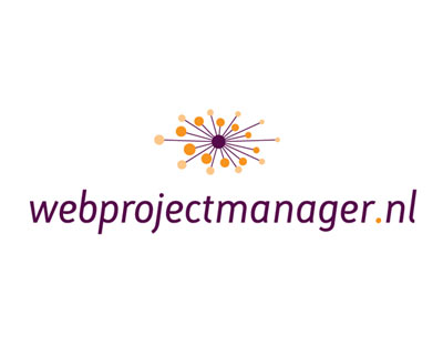 Webprojectmanager.nl logotipo e identidad corporativa